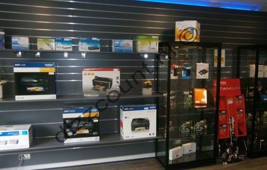 slatwall presentatie computerwinkel