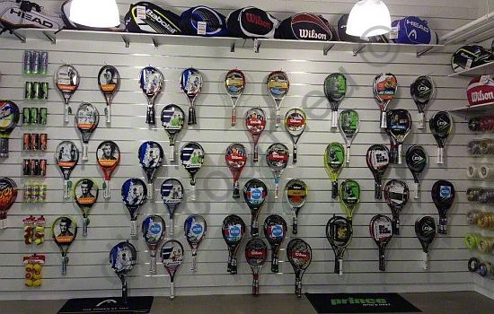 Tenniswand Slatwall panelen Lamellenwand Dizz