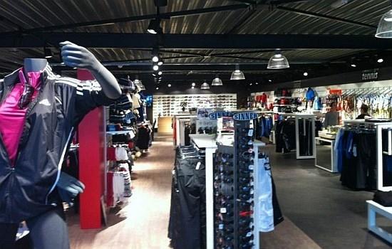 Winkelinrichting sportzaak